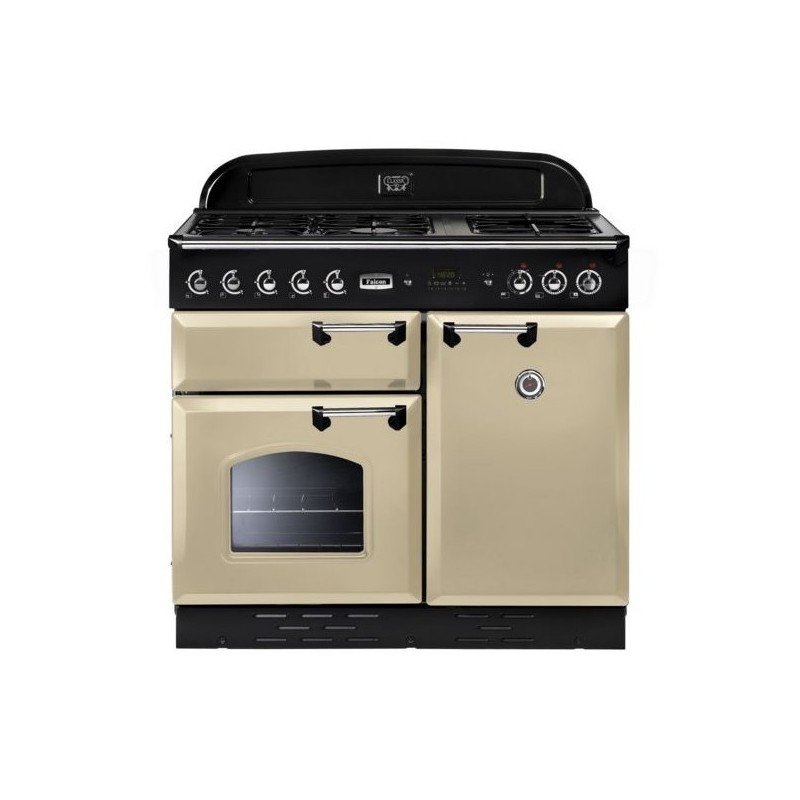 Piano de cuisson Falcon CLASSIC mixte 100 cm crème