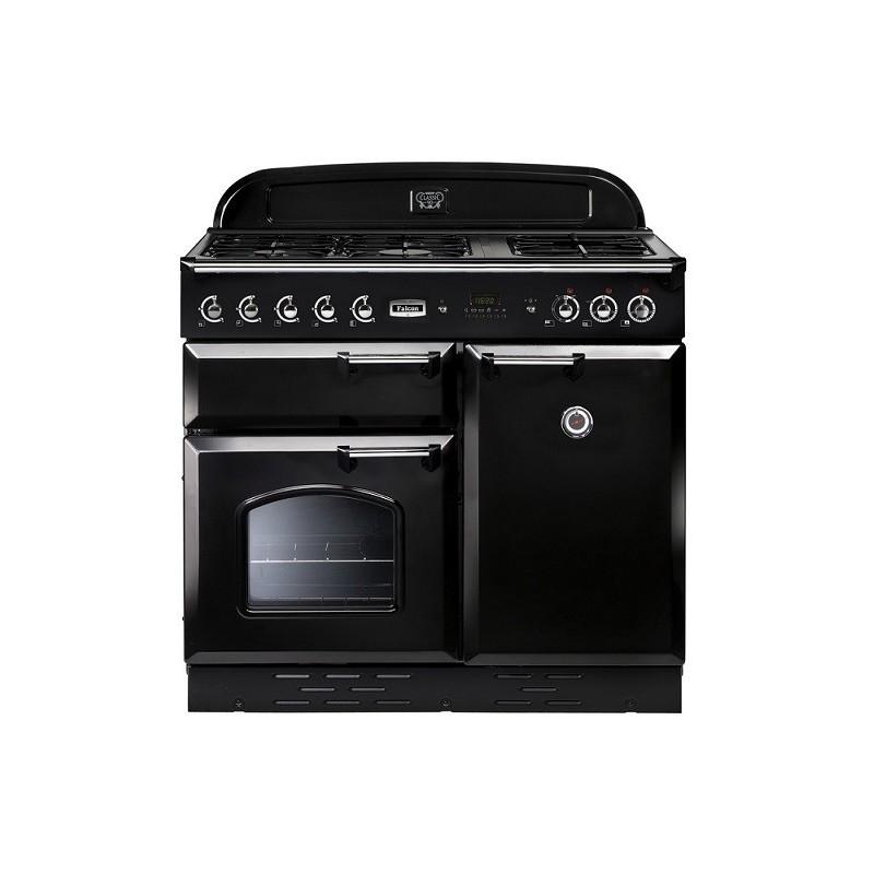 Piano de cuisson Falcon CLASSIC MIXTE 100 cm noir