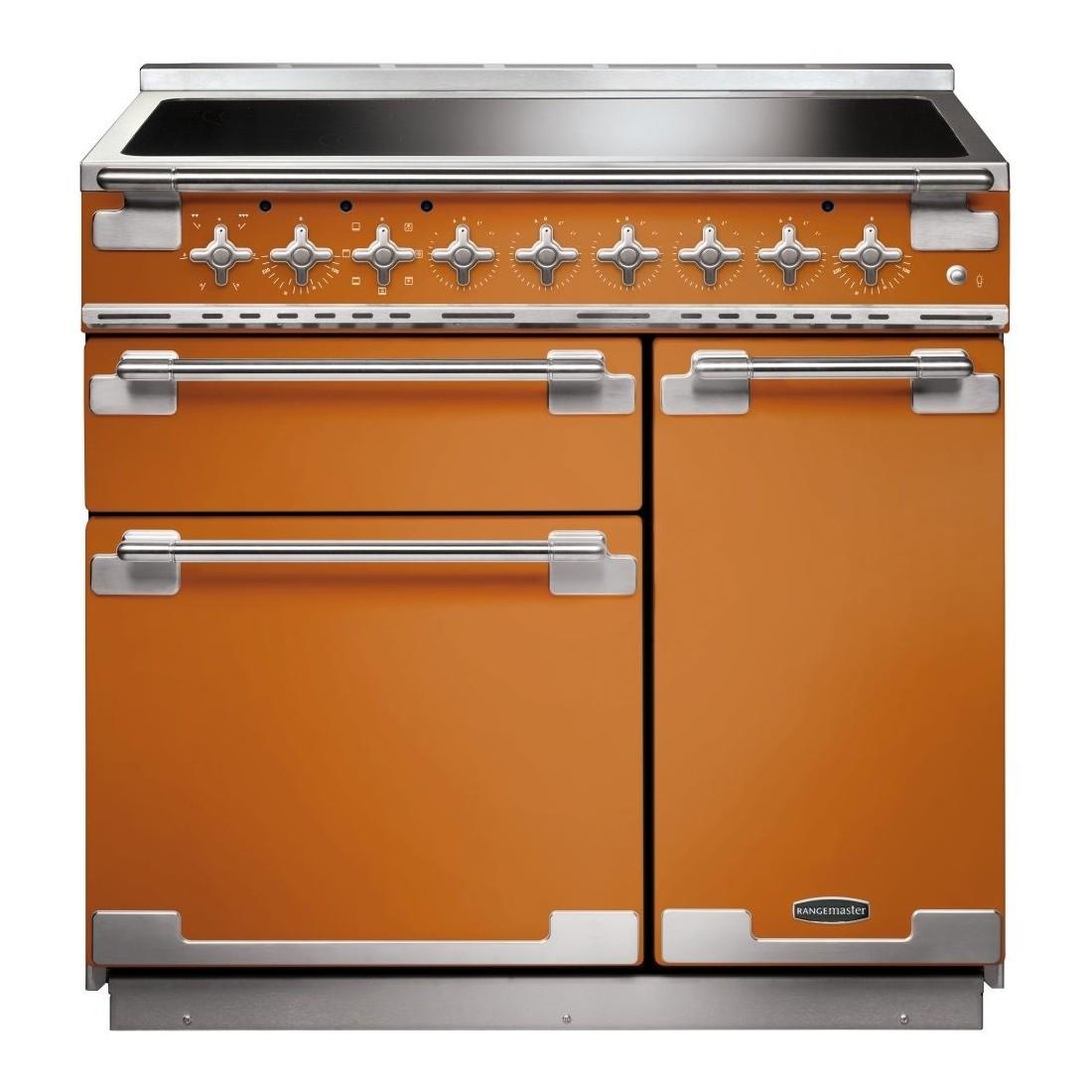 acheter populaire 02dcb daa03 Piano de cuisson Falcon ELISE induction 90 cm orange