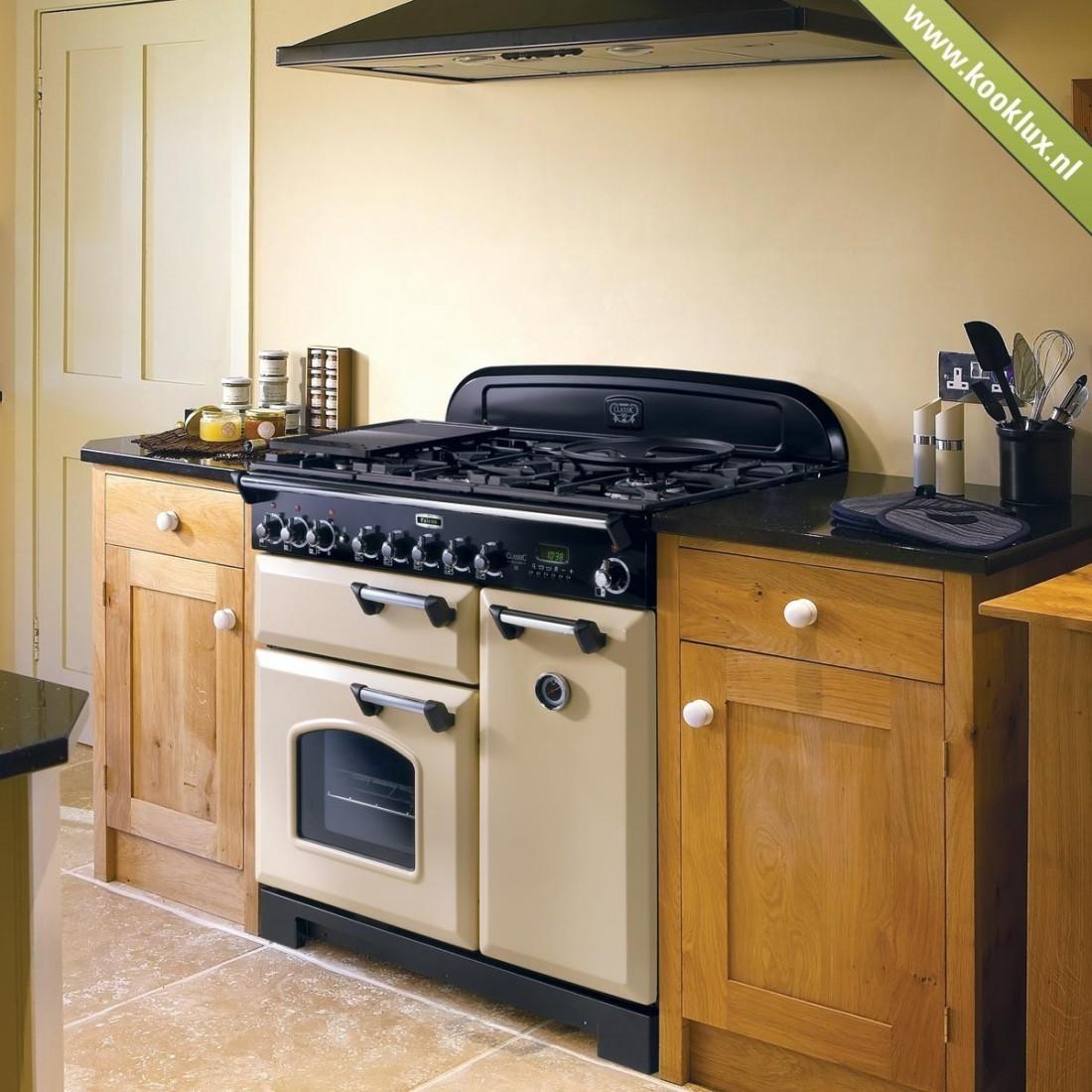 Piano de cuisson gaz falcon classic mixte 90 cm pas cher - Piano cuisine gaz ...