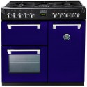 Piano de cuisson Stoves RICHMOND gaz 90 cm aubergine