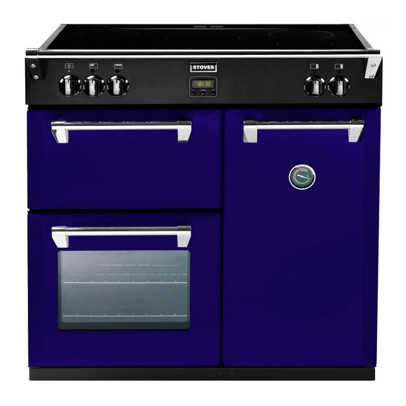 Piano de cuisson Stoves RICHMOND gaz 90 cm aubergine