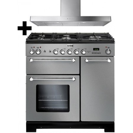 Ensemble Piano de cuisson + Hotte Falcon KITCHENER 90cm