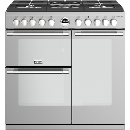 Piano de cuisson Stoves Sterling S 90cm Mixte