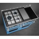 Piano de cuisson SMEG CPF120IGMP Mixte 120cm Portofino