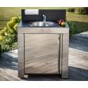 Module évier pour cuisine d'extérieur ENO inox MOD4103
