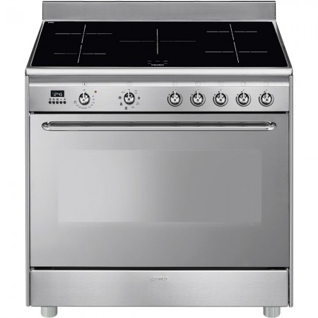 Piano de cuisson SMEG CG90IX9 90cm Induction