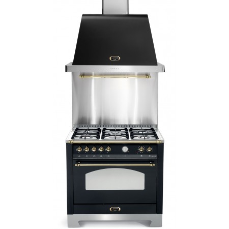 Ensemble Piano de cuisson + Hotte Smeg VICTORIA 110cm