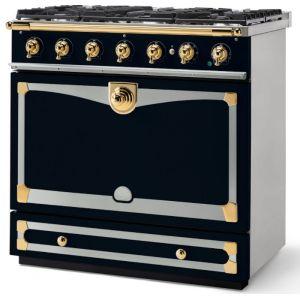 Piano de cuisson La Cornue ALBERTINE 90cm mixte bleu marine