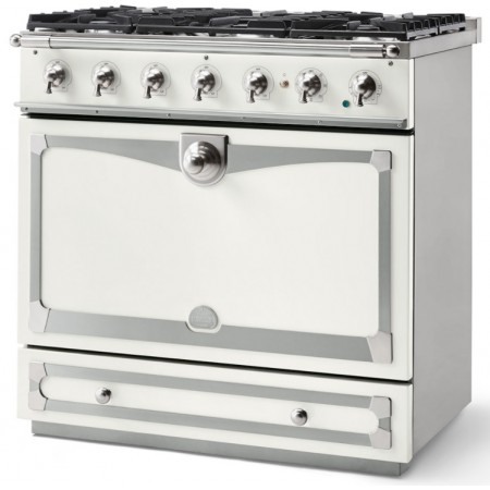 Piano de cuisson La Cornue ALBERTINE 90cm induction blanc pur