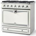 Piano de cuisson La Cornue ALBERTINE 90cm induction blanc pur
