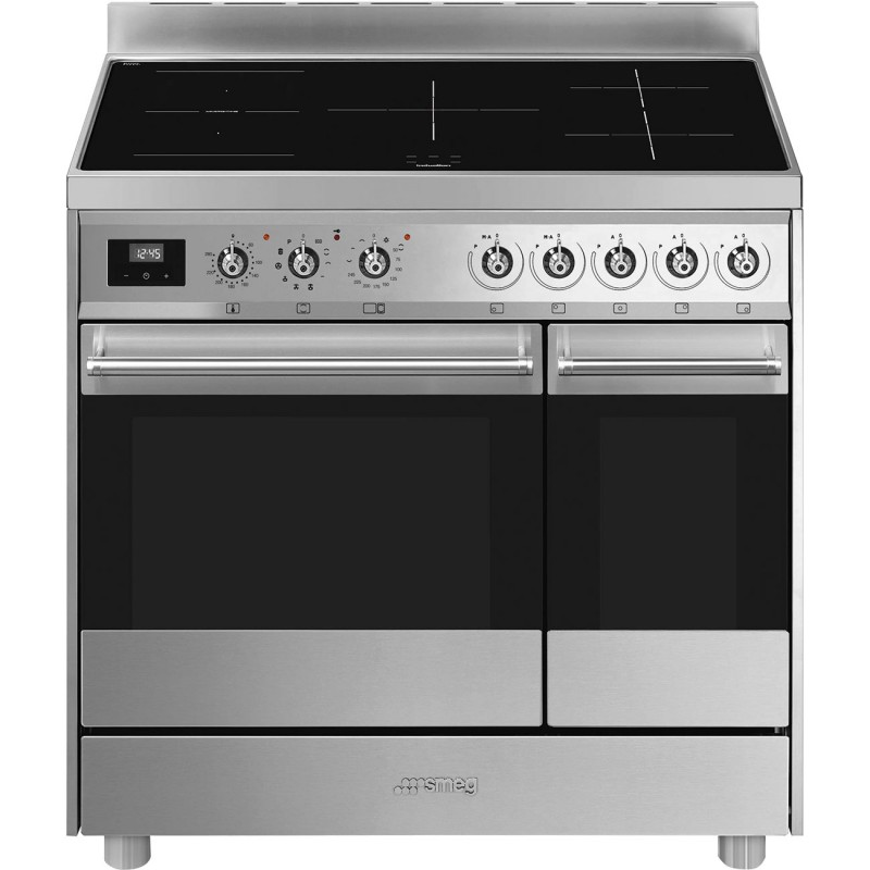 Piano de cuisson Smeg C92IPBL9 90cm induction