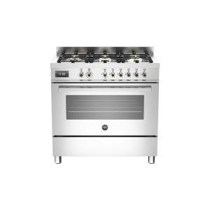 Piano de cuisson BERTAZZONI Mixte Professional Series 90 cm un four 6 brûleurs