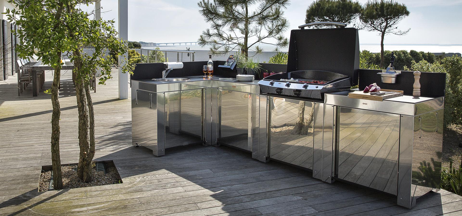 Composez votre cuisine d'extérieur ENO