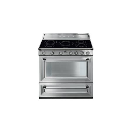 Piano de cuisson SMEG TR90IX 90cm Induction Victoria inox