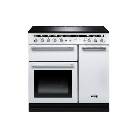 Piano de cuisson Falcon HI-LITE induction 90 cm blanc