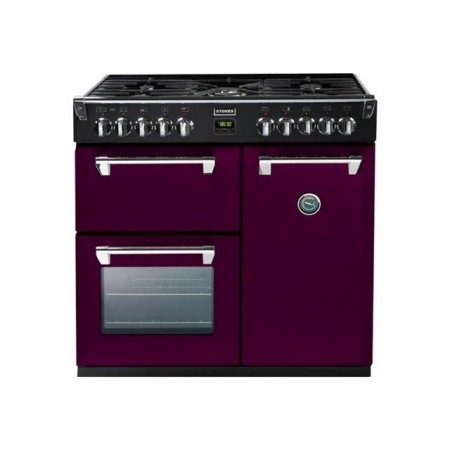 Piano de cuisson Stoves RICHMOND mixte 90 cm aubergine