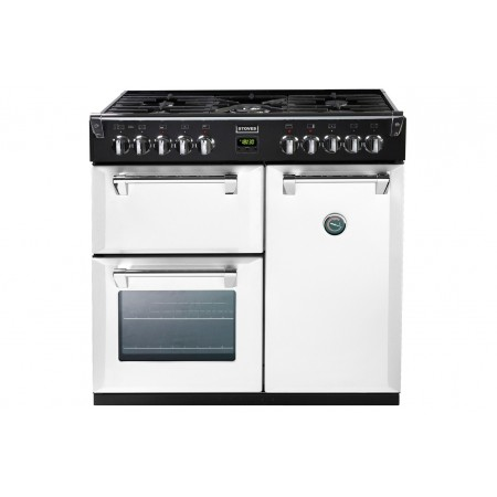 Piano de cuisson Stoves RICHMOND mixte 90 cm blanc